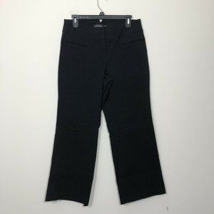 Lane Bryant Size 1 Petite Black Red Triangle Pants